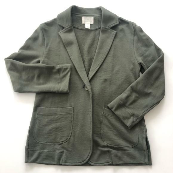 Caslon Jackets & Blazers - Caslon Two Pocket Knit Blazer